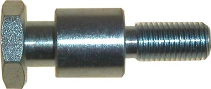 Picture of Paddock Stand Bobbins Stepped 10mm x 1.25mm, overall 50mm (Pair)