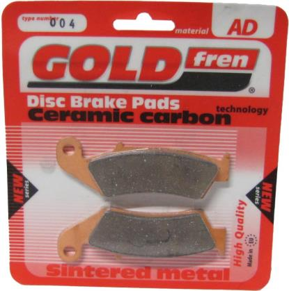 Picture of Goldfren AD004, VD139, VD161, FA125, FDB495, SBS603 Disc Pads (Pair)