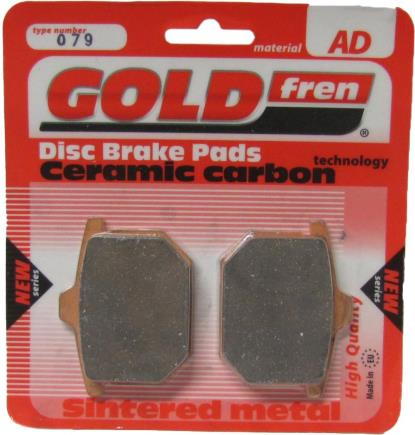 Picture of Brake Disc Pads Front L/H Goldfren for 1975 Honda GL 1000 K0 Gold Wing