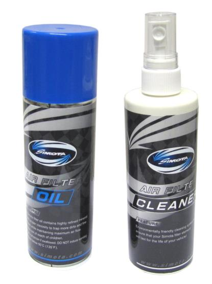 Picture of Air Filter Cleaner and Oil for