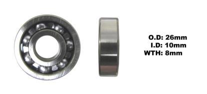 Picture of Bearing SNR 6000 (I.D 10mm x O.D 26mm x W 8mm)
