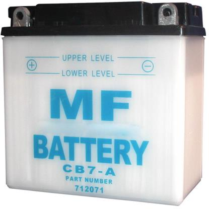 Picture of Battery (Conventional) for 1947 BSA A7 (497cc) NO ACID