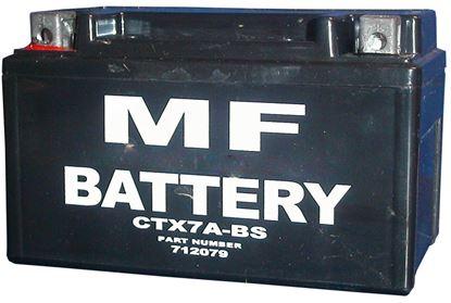 Picture of *Battery CTX7A-BS/12N7E-B (L:150mm x H:90mm x W:88mm) NO ACID