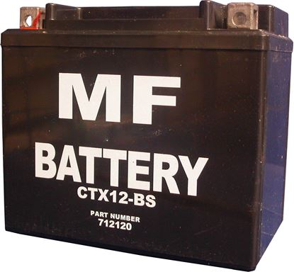 Picture of *Battery CTX12-BS (L:150mm x H:130mm x W:88mm)  (Fully Sealed) NO ACID