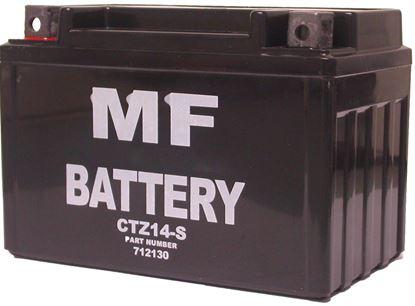Picture of *Battery CTZ14-S, CT12A-BS (L:150mm x H:110mm x W:88mm) NO ACID